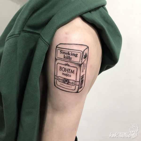 凱克刺青作品-戒菸滿兩週年