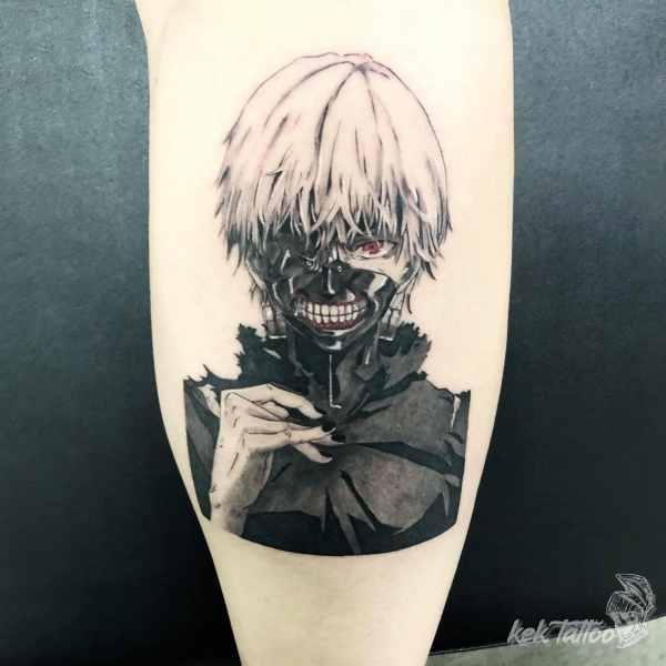 凱克刺青作品-東京喰種 金木研